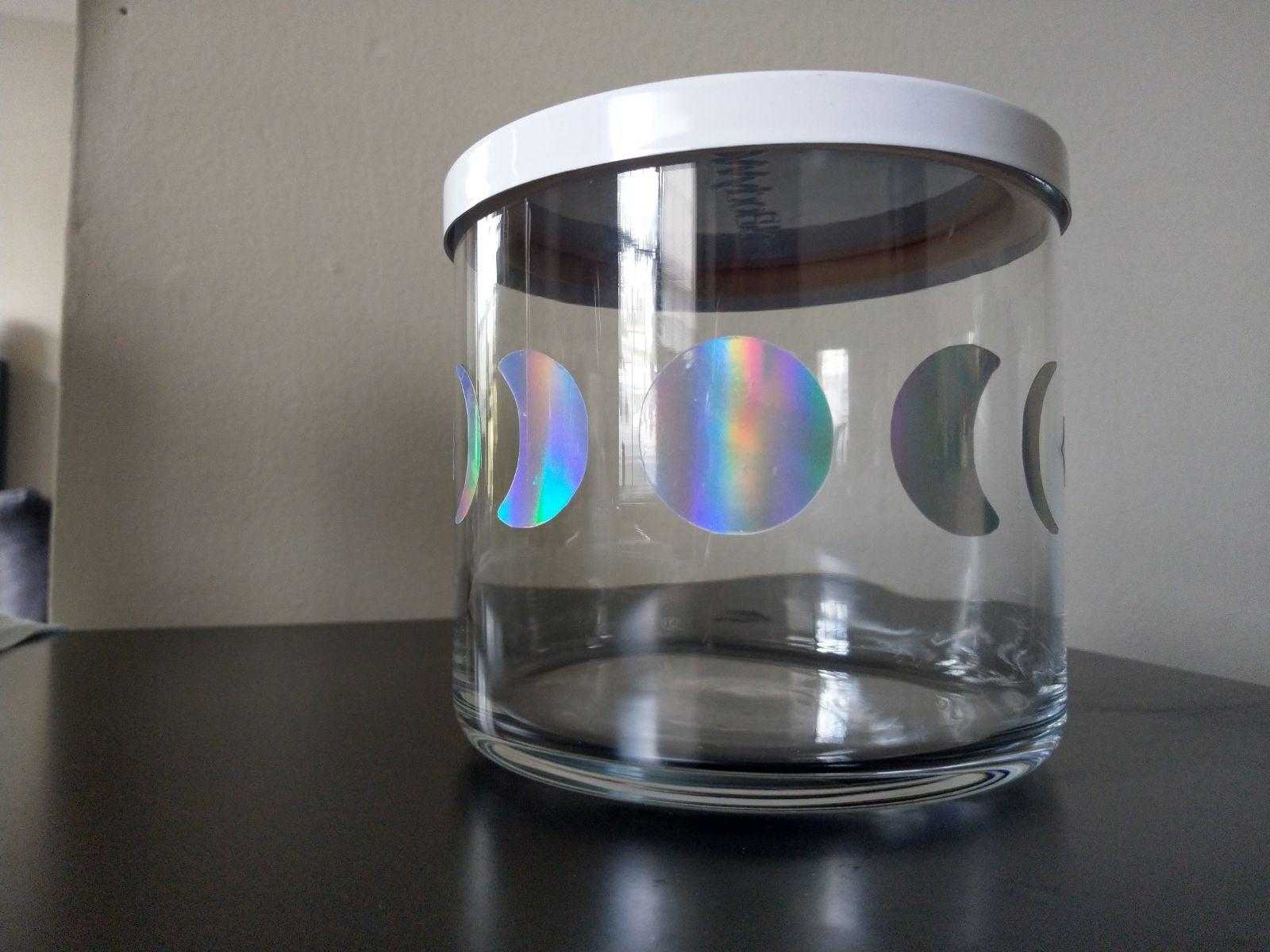 Moon Phase  holder, storage, jar