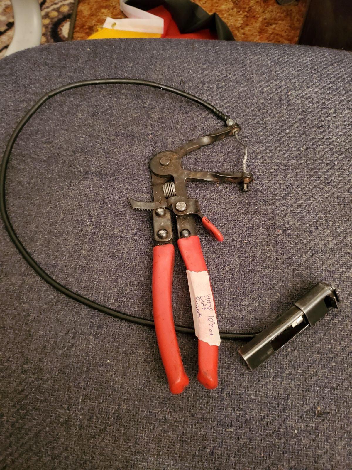Mayhall clamp  Pliers
