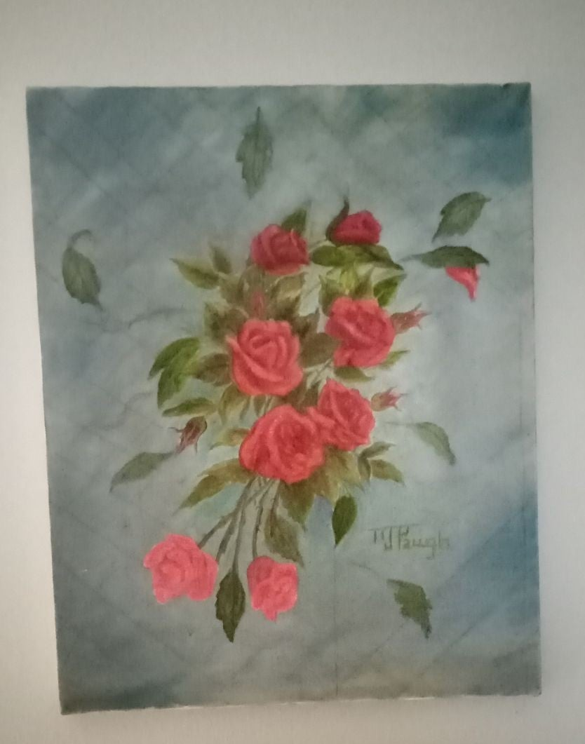 15x24 flower painting oil painting