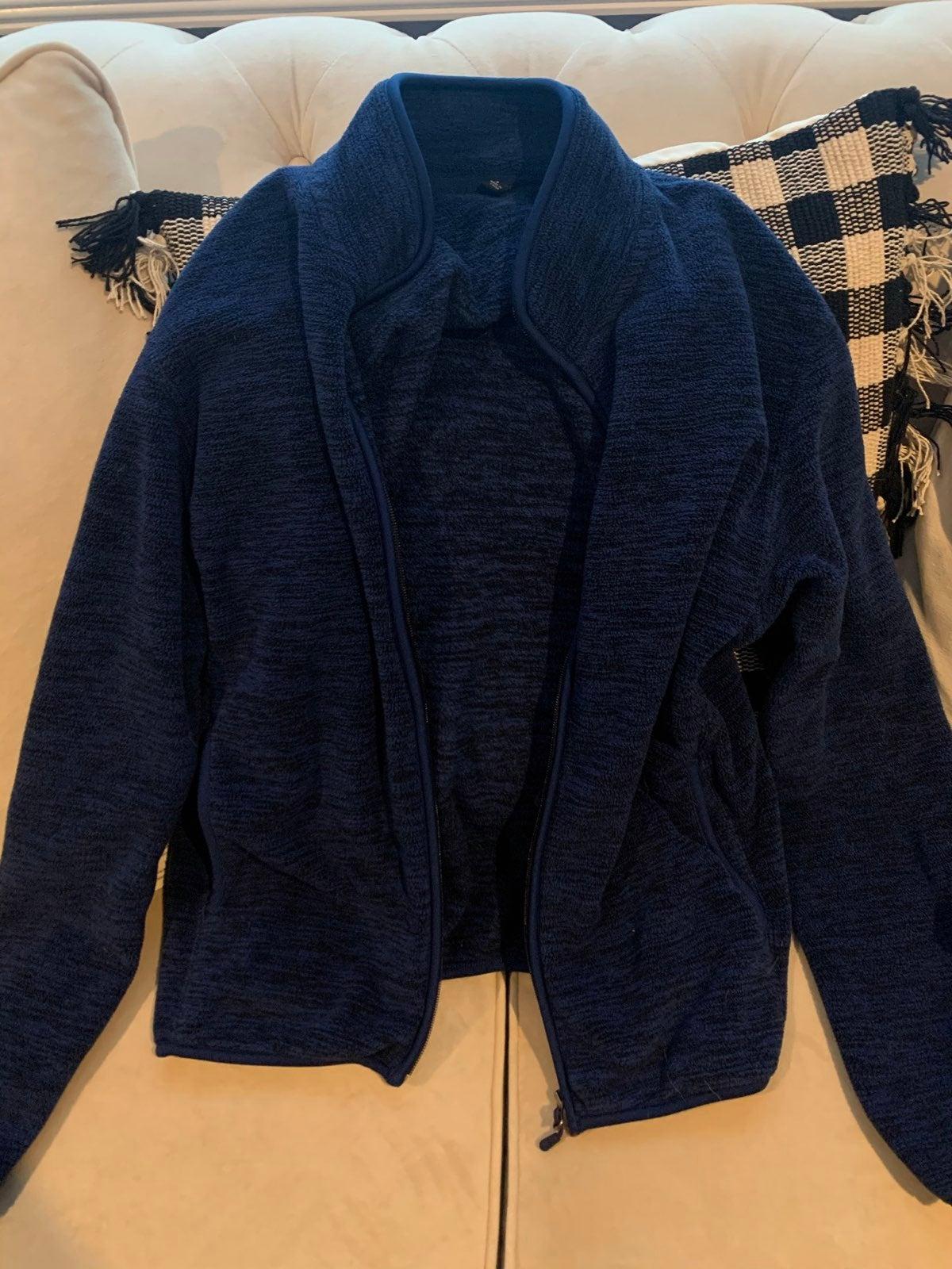 UNIQLO Fleece Zip Up Sweatshirt
