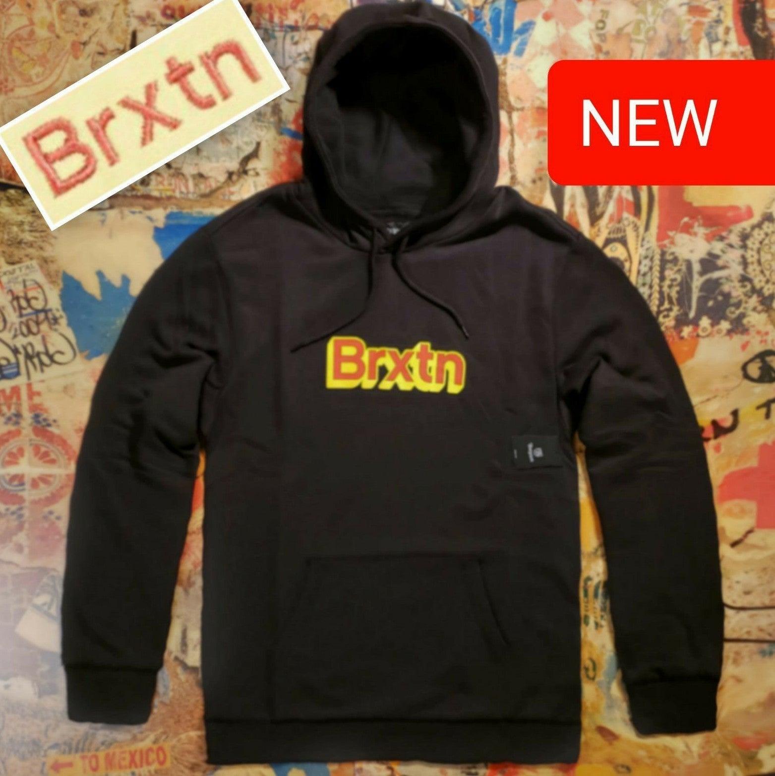 $90 New Brixton Fleece Hoodie! XL