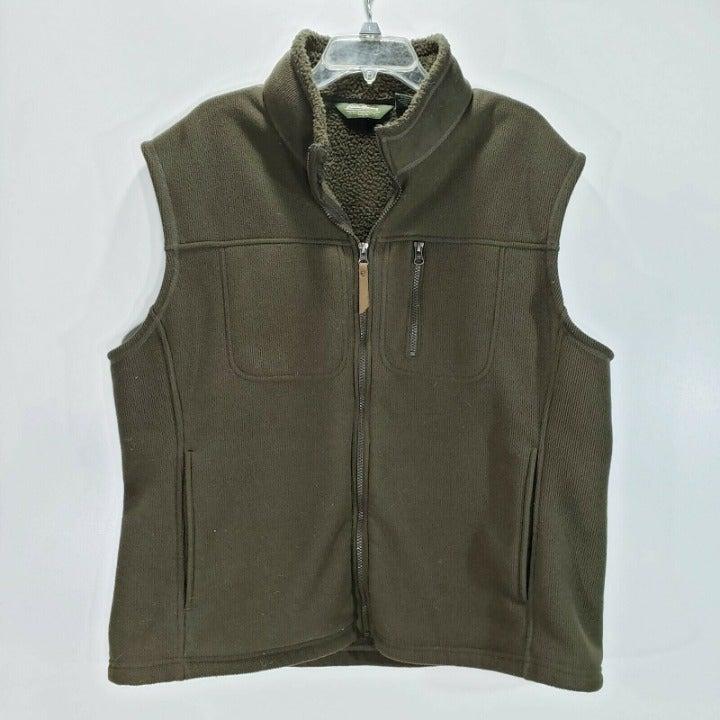 Eddie Bauer Mens Fleece Vest XL E3