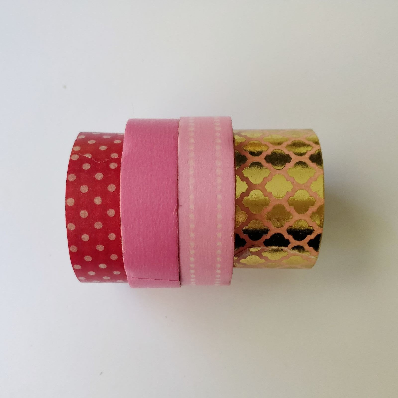 Pink Gilded Washi Tapes