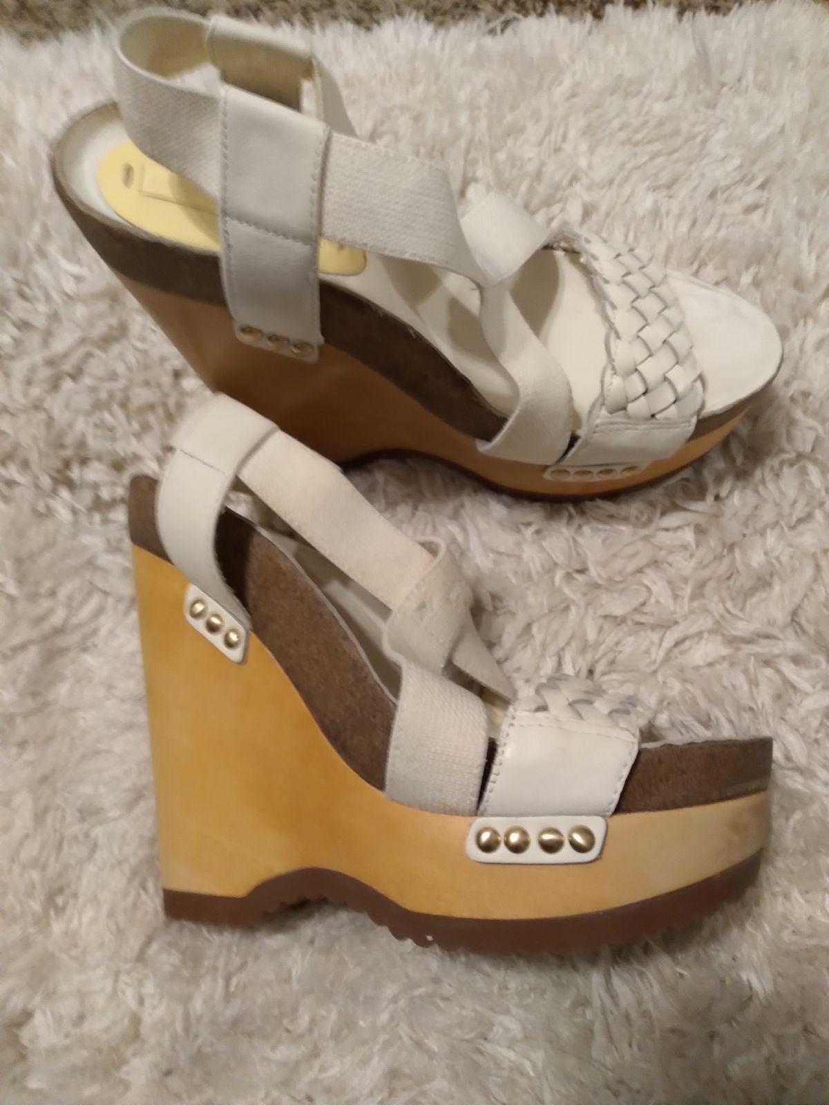 BCBG wedge heeled sandals