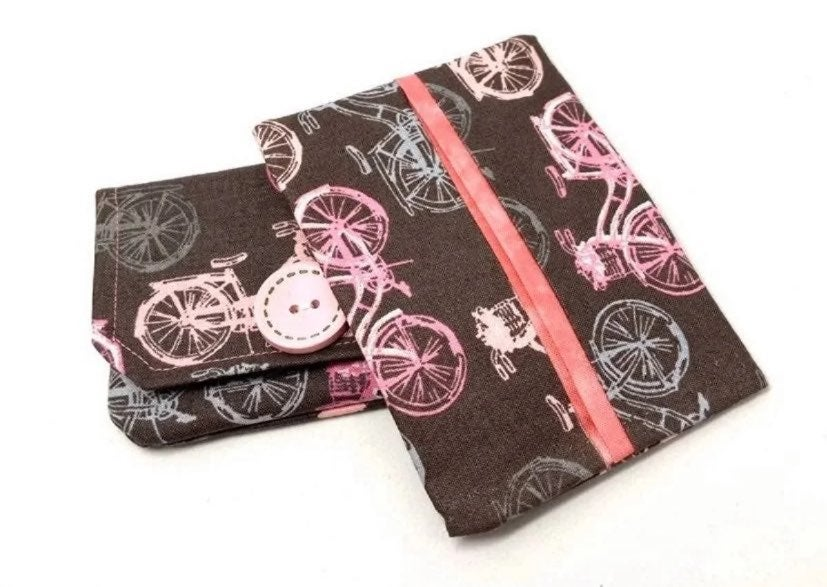 Bicycle Fabric Card Wallet Gift Set