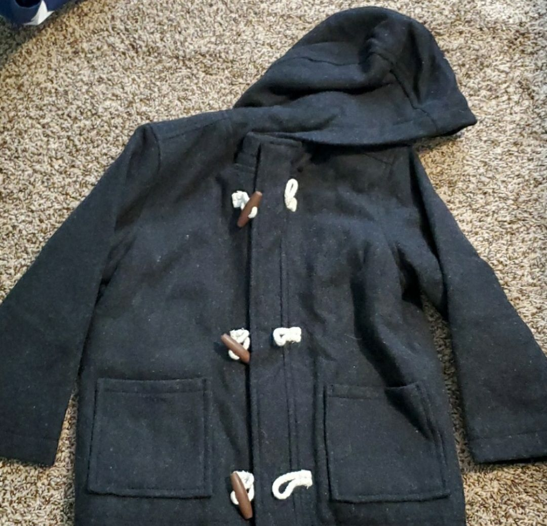 Old Navy Hooded Zip Up Coat 5T