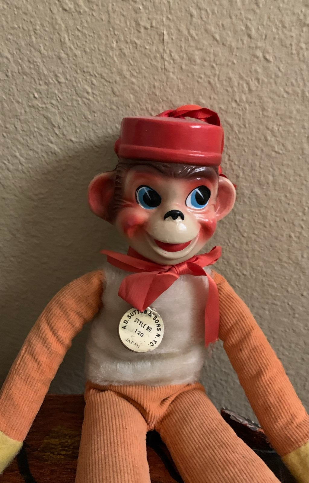A.D. Sutton & Sons NYC monkey