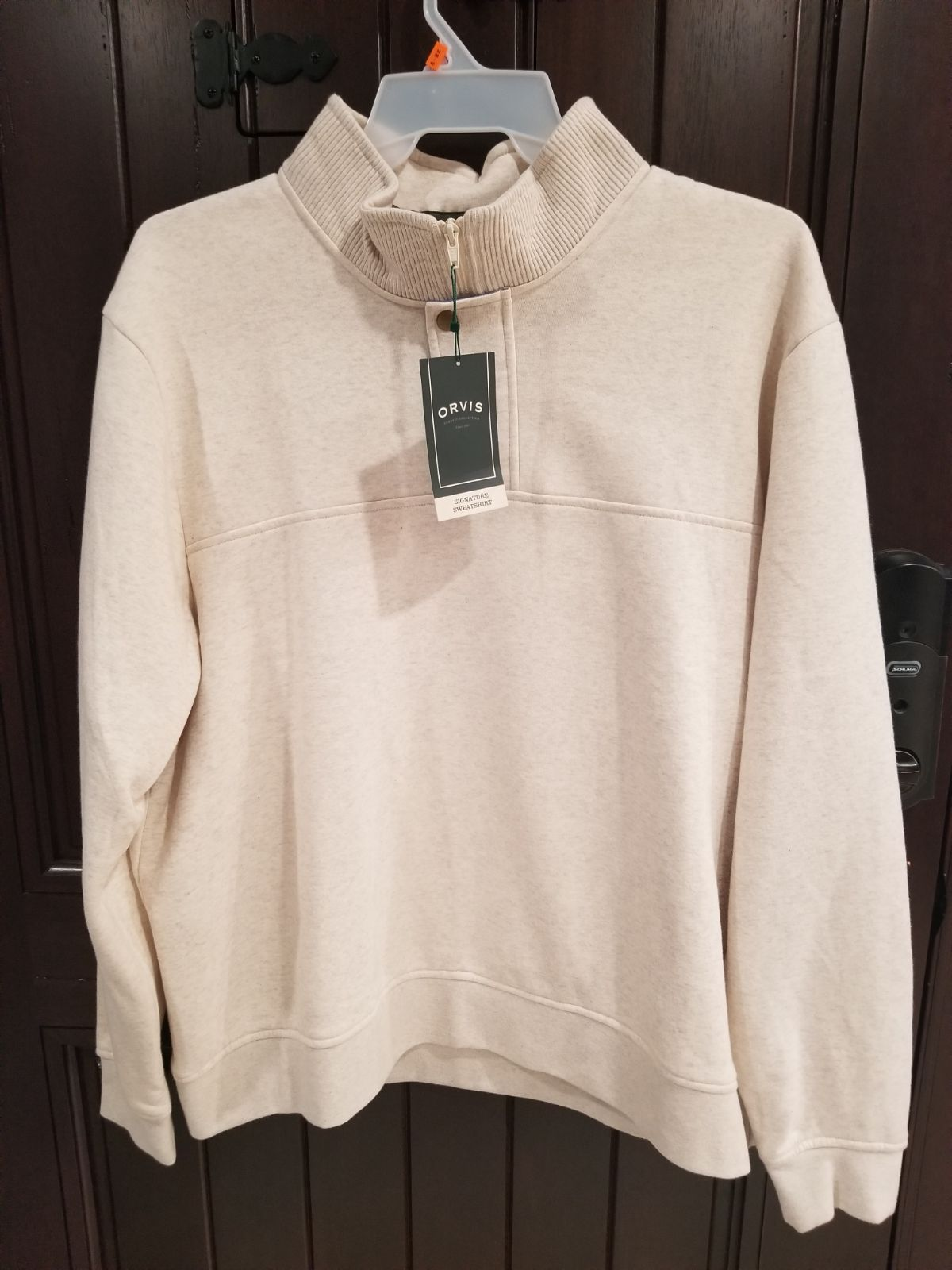 NEW ORVIS Signature Sweatshirt Men's XXL