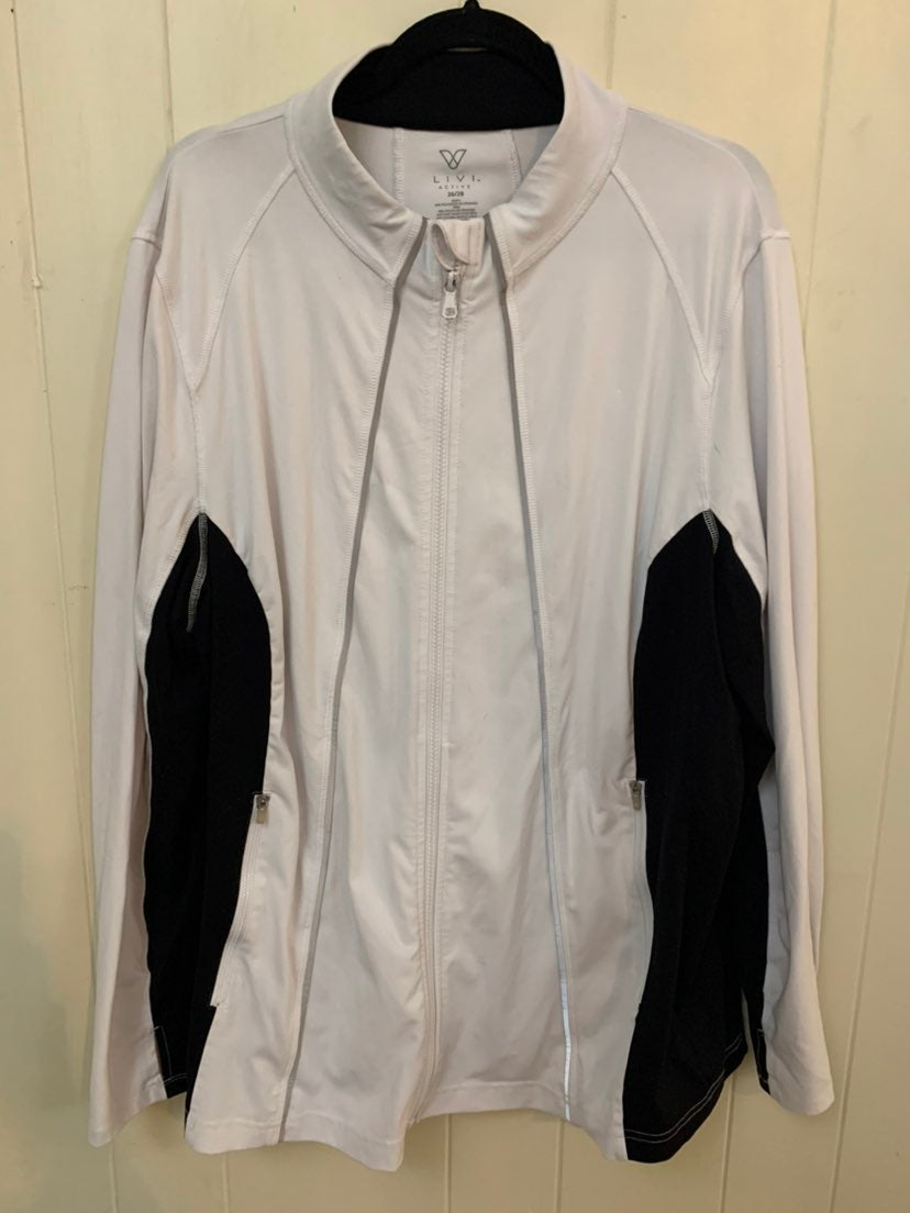 Livi Active athletic jacket - size 26/28