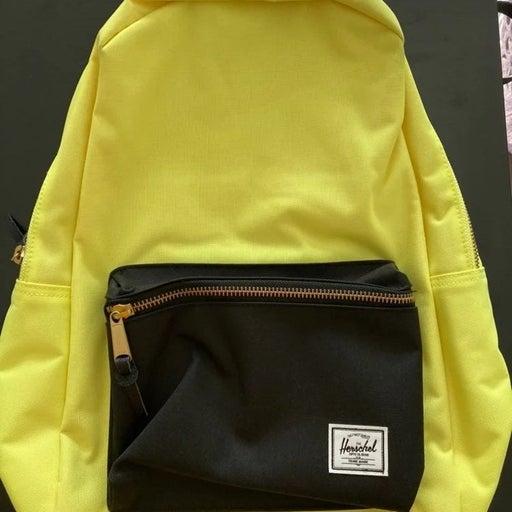 Herschel Backpack Highlight Yellow and B