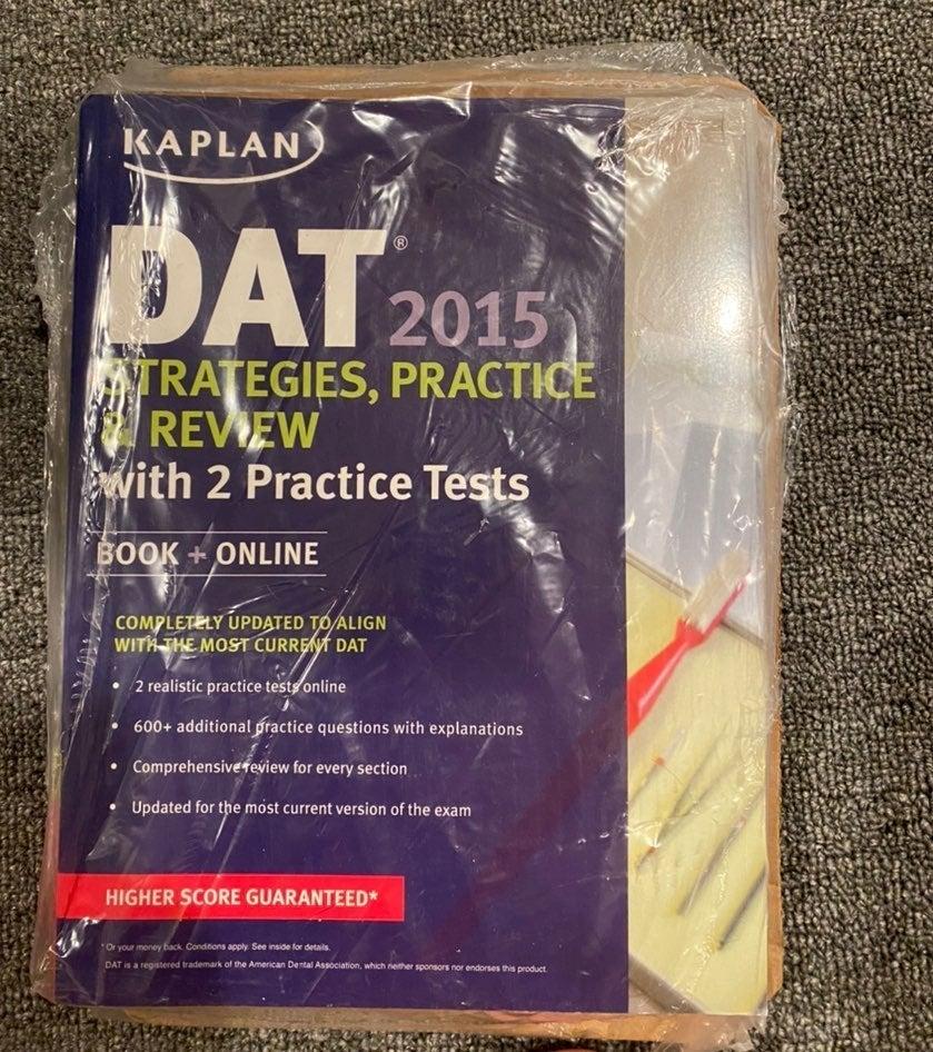 Kaplan DAT Book