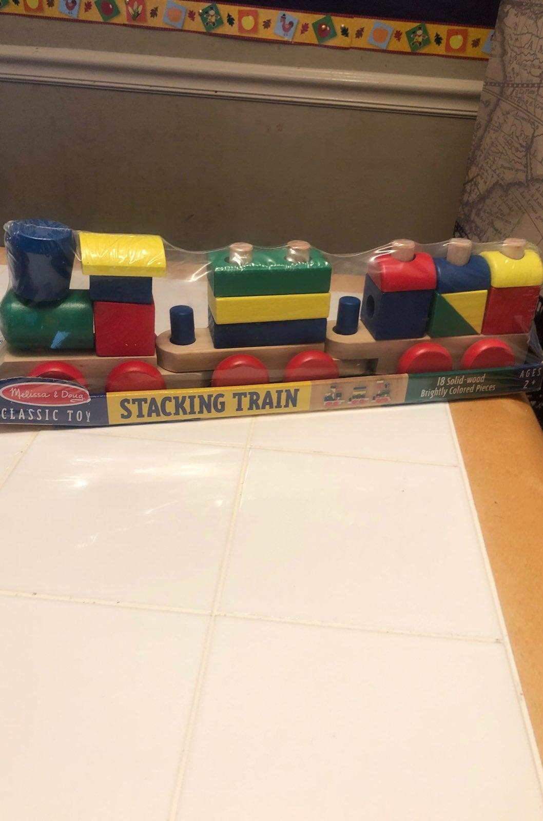 Preschool/Toddler Stacking Train
