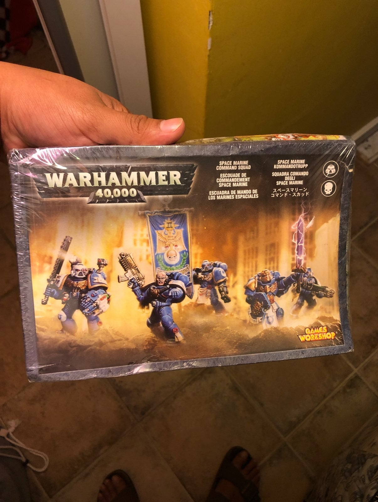 Warhammer 40000 in box