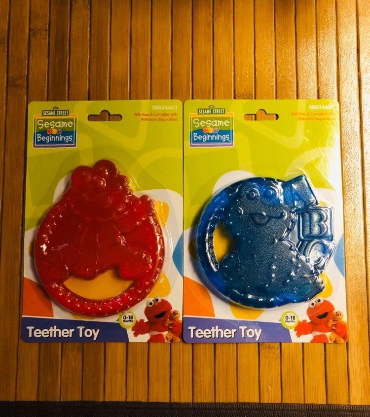 Sesame Street Cookie Monster Teether