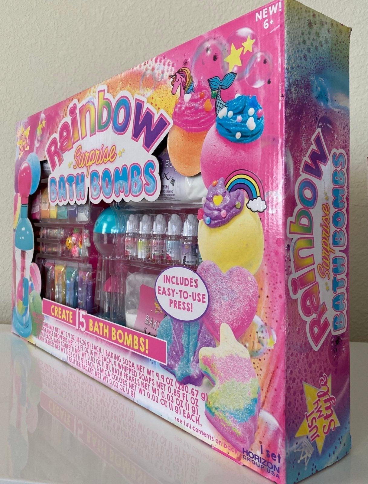 Rainbow Surpise Bath Bombs