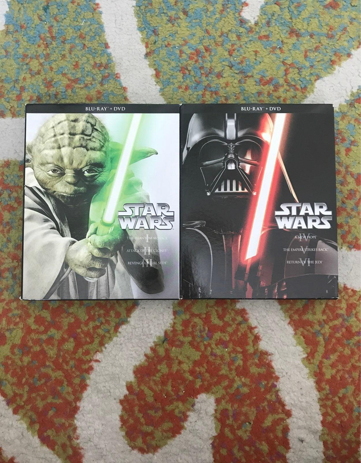 Star Wars DVD Collection Set