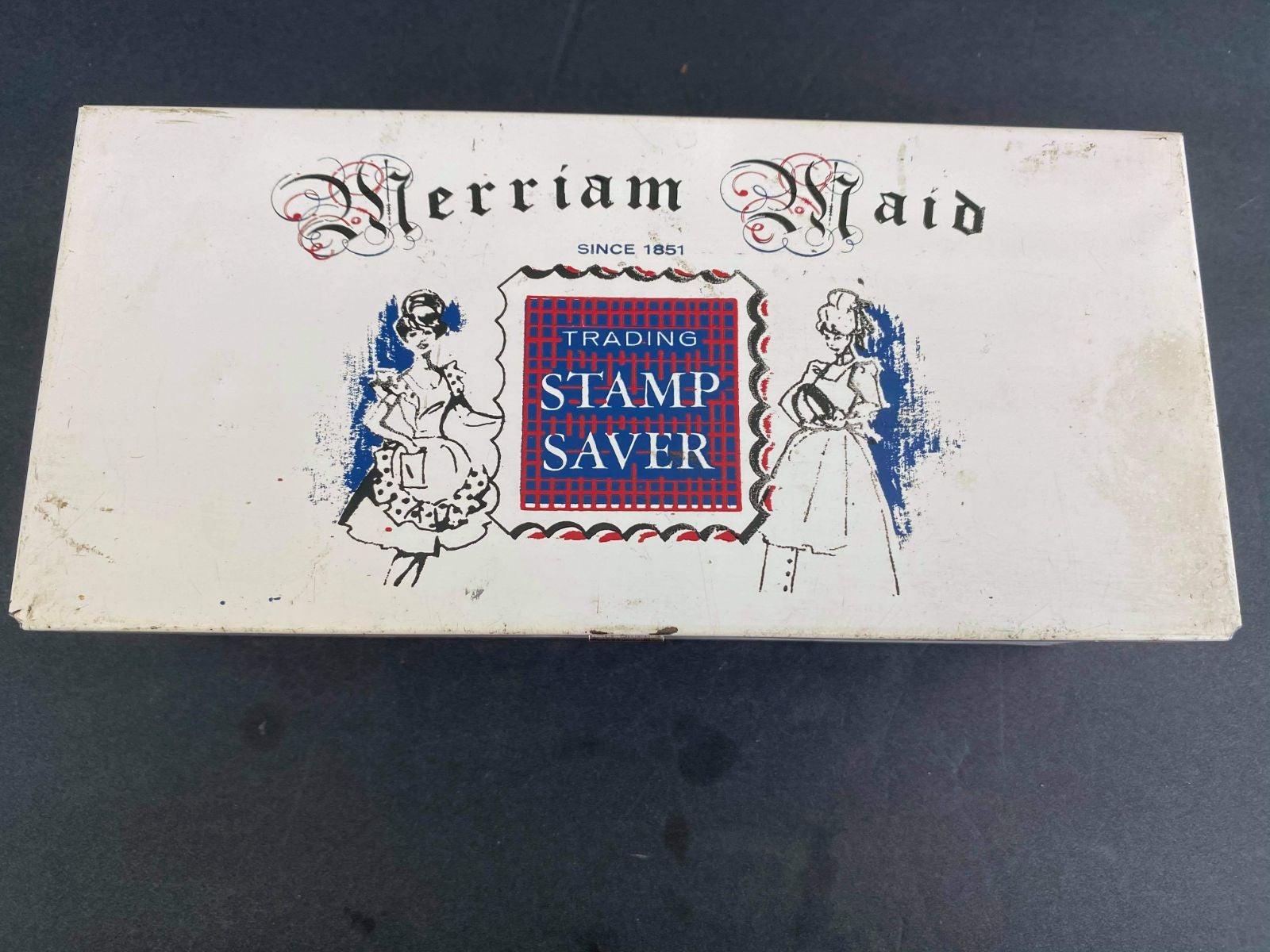 Merriam Maid Trading Stamp Saver Box
