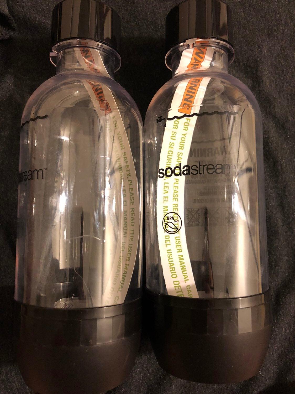 Sodastream 0.5 L bottles (2)