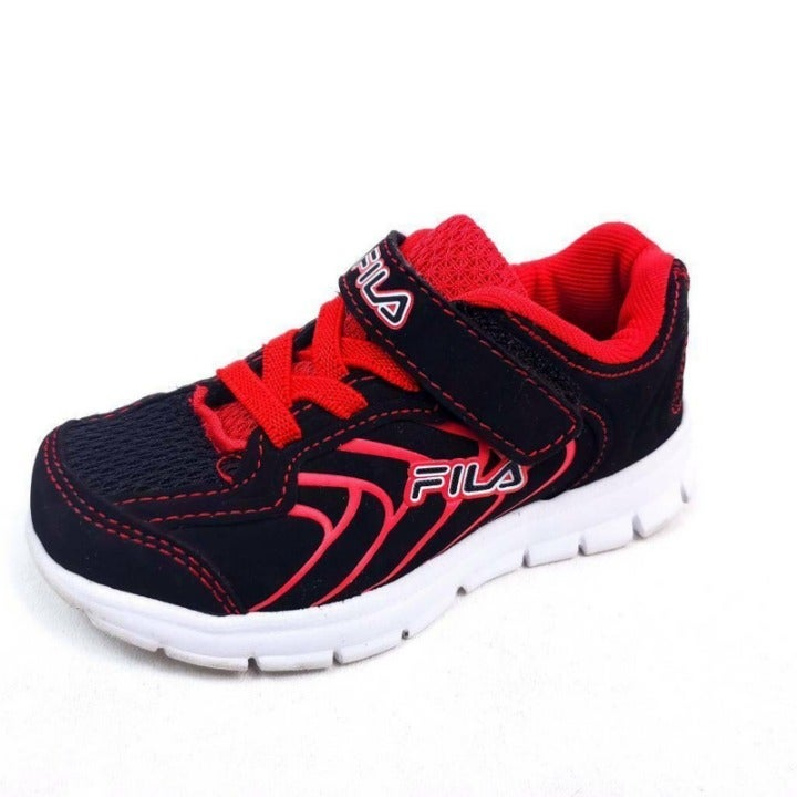 Fila Little Boys 7 Athletic Shoes Red