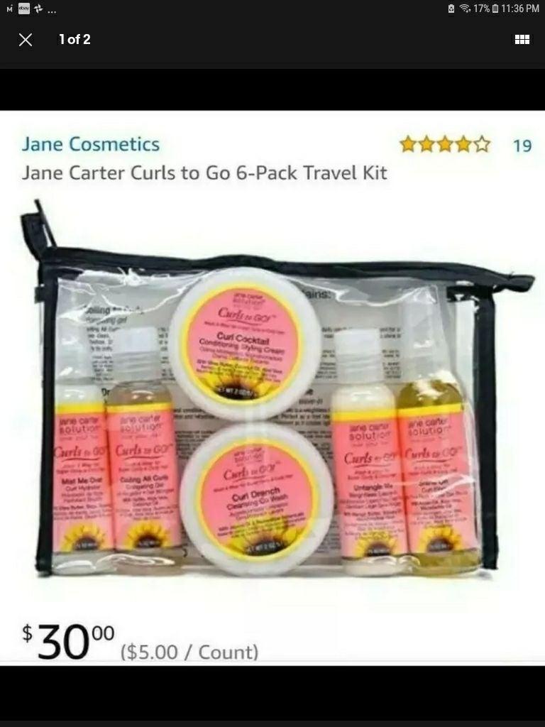 Jane Carter Curls to go starter kit