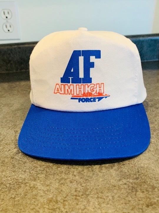 Vintage Air Force Snapback Hat