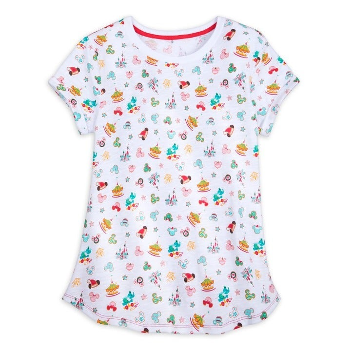 Disney Parks Fantasyland Holiday T-Shirt