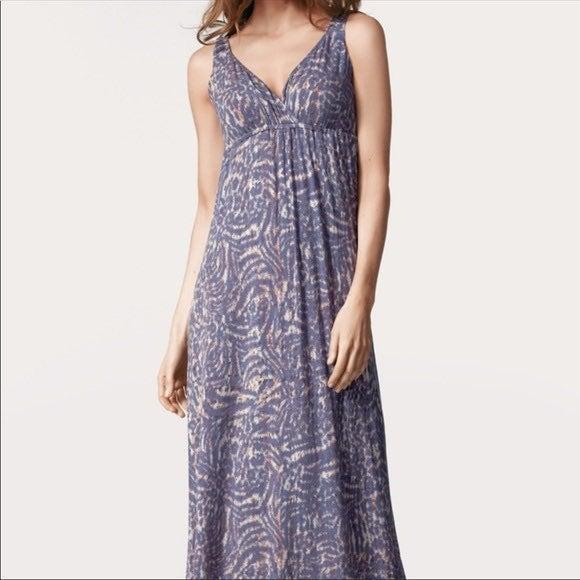 Cabi Patio Maxi Dress- Size Large- Purpl