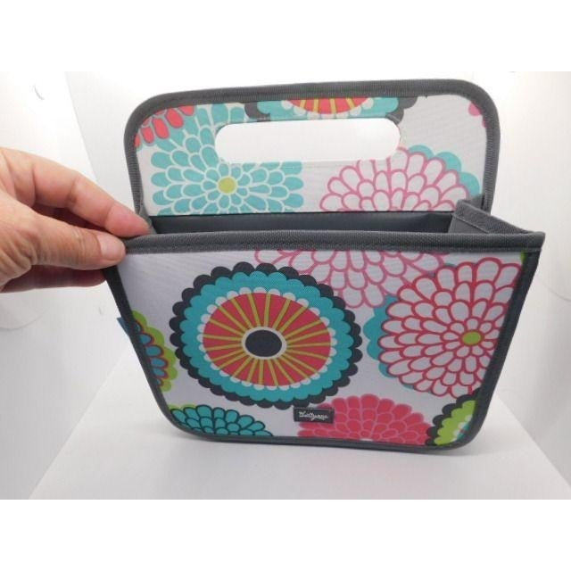 Thirty One 31 Bubble Bloom Slanted tote
