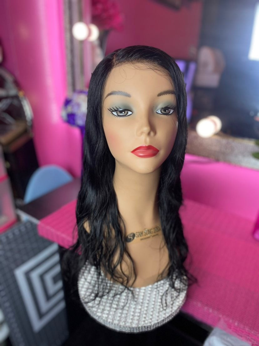 100% Human 360 Lace front wig
