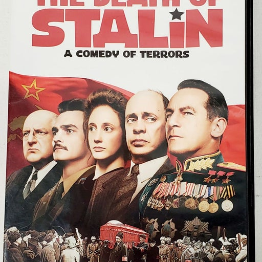 The death of Stalin DVD