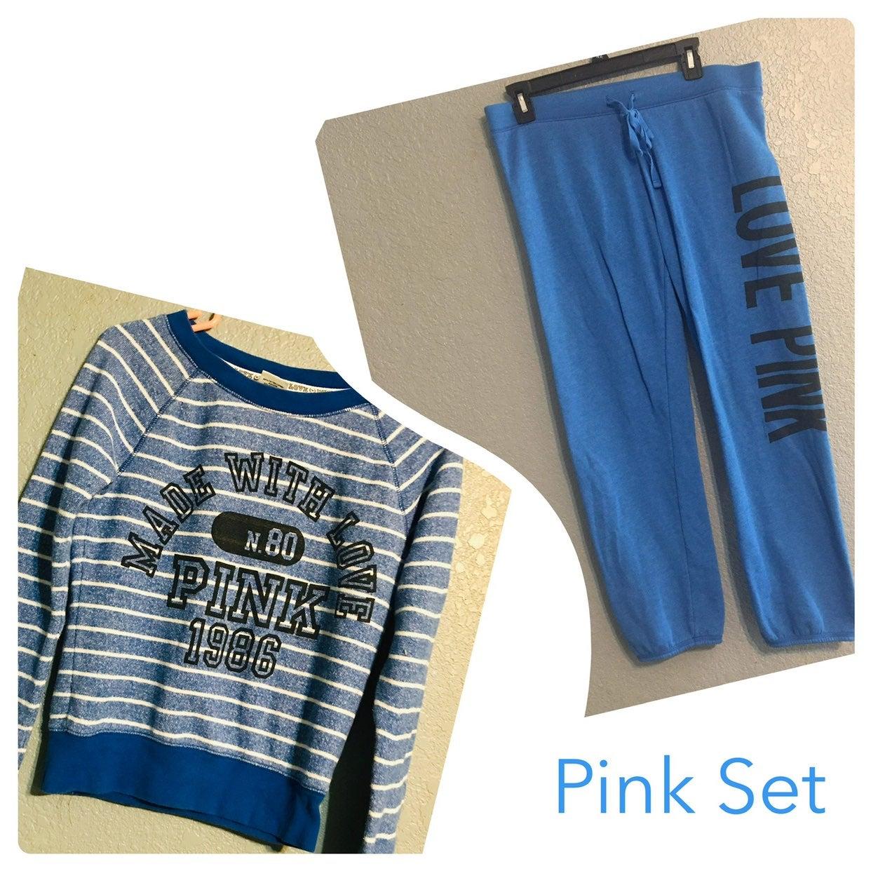 Woman's Victoria Secret Pink Set (M)