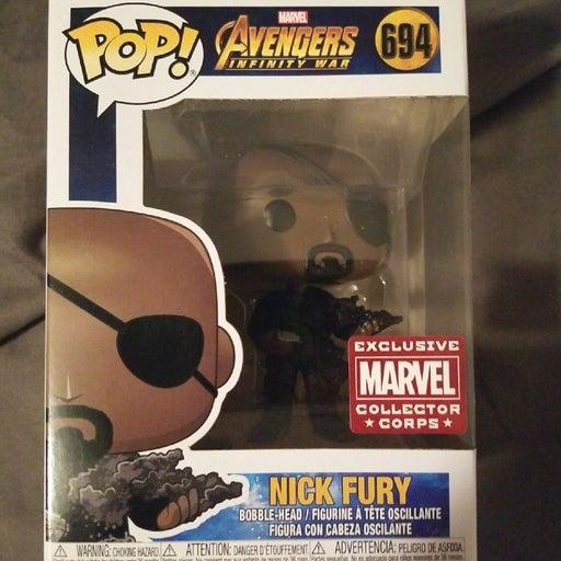 Funko Pop Nick Fury Exc