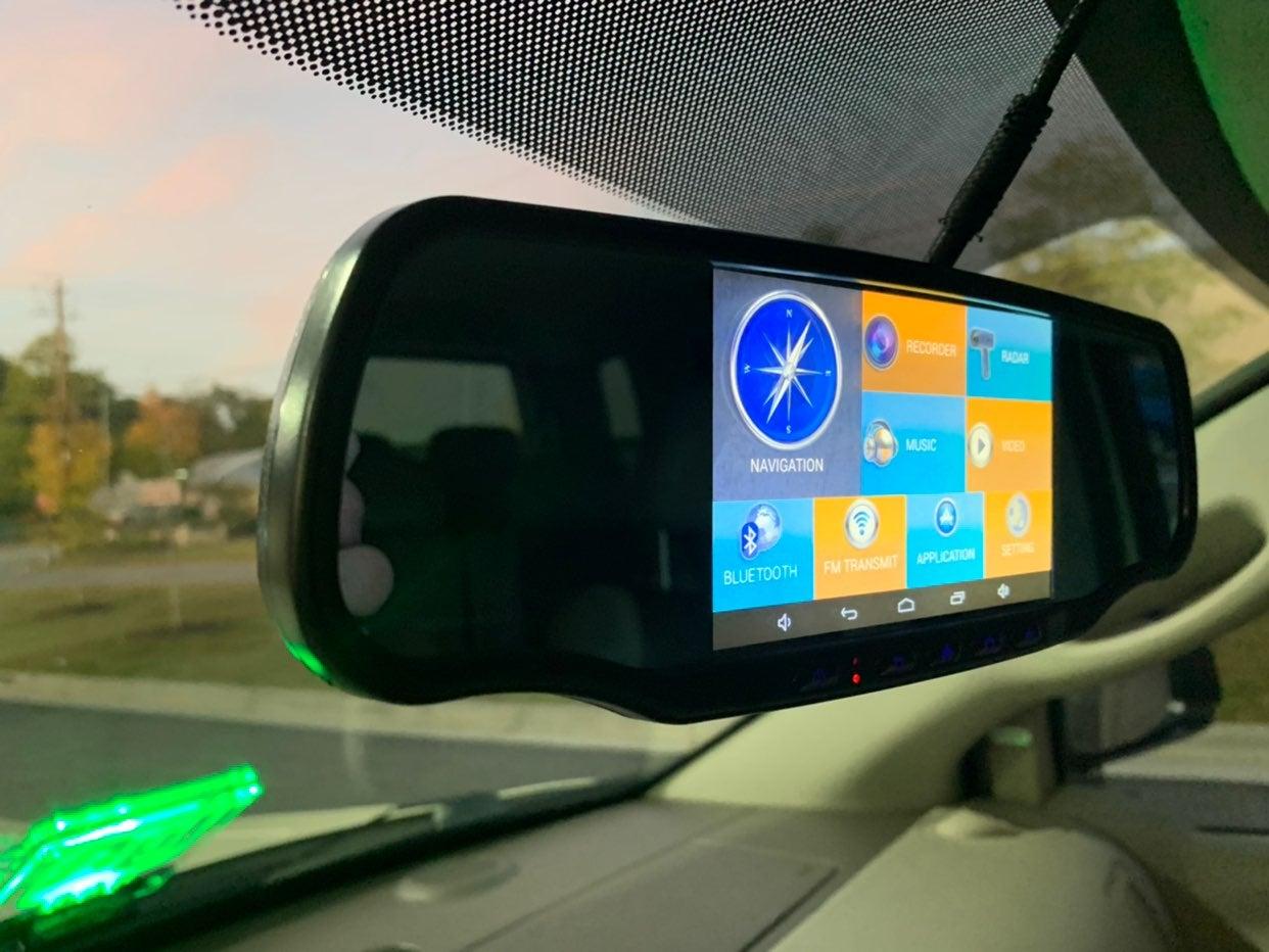 Apptronics SmartNav 5A RearView Mirror