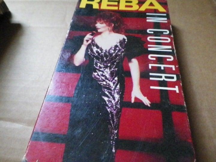 Reba In Concert VHS Video.