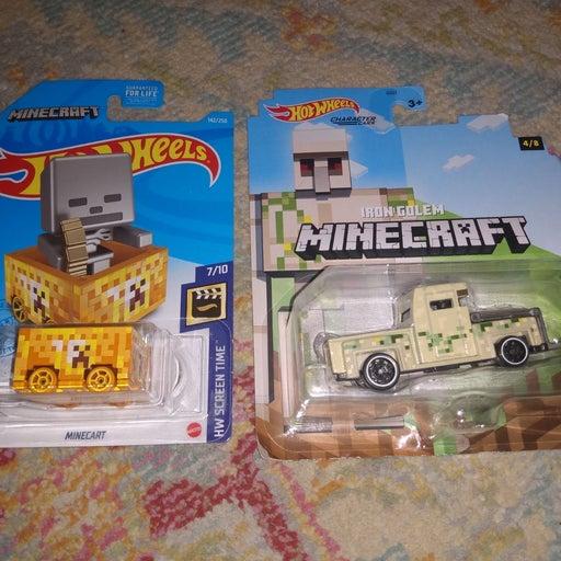 Hot Wheels Minecraft