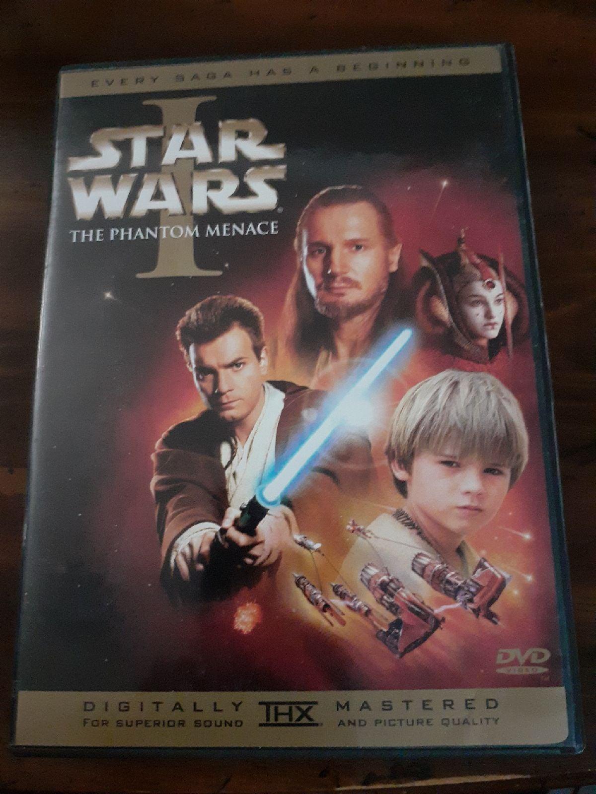 Star Wars Episide I the Phantom Menace D