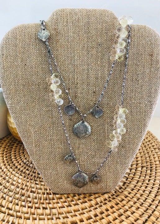 Loft Multi-strand Beaded Necklace