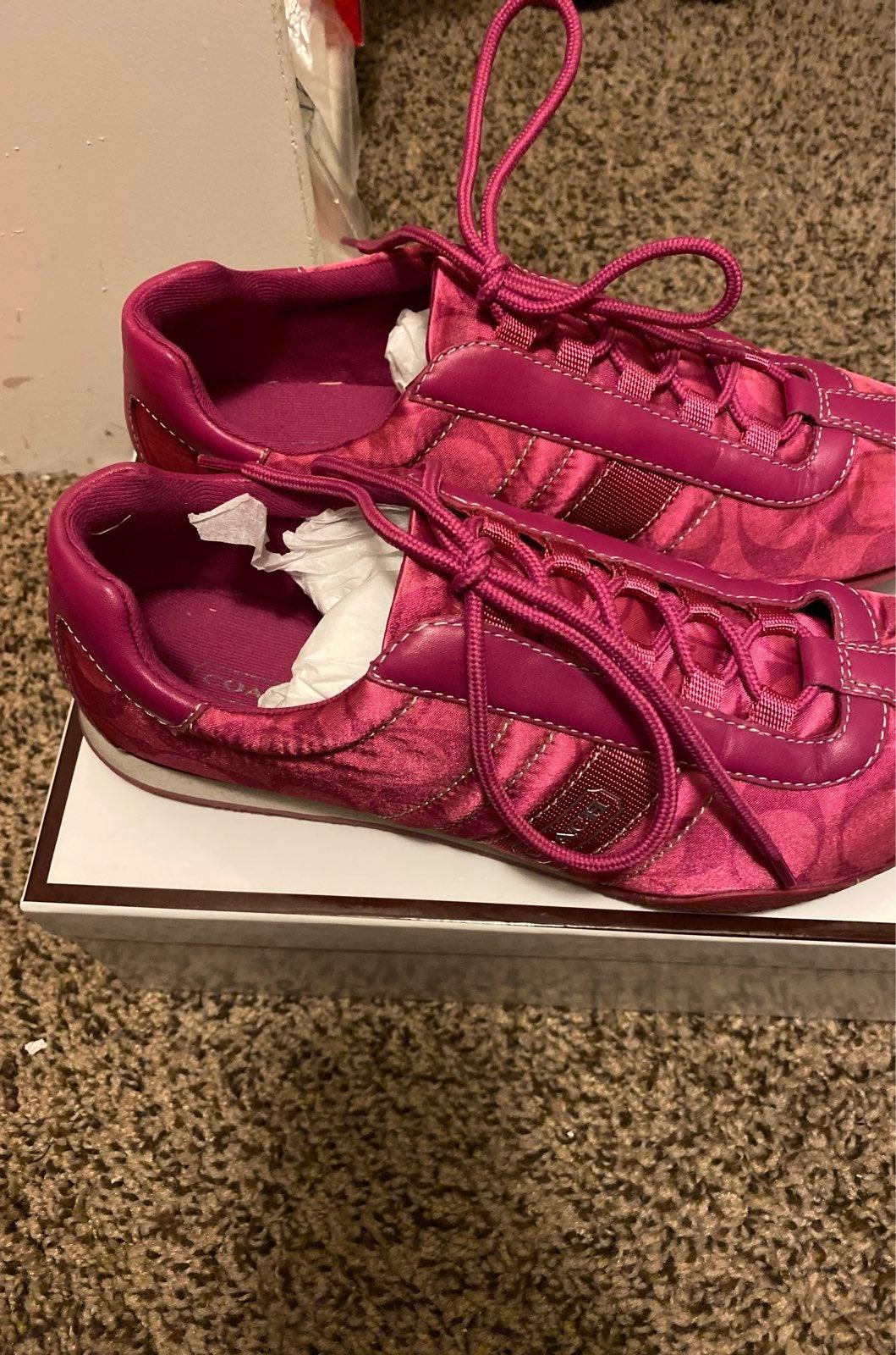 Coach tennis shoes women
