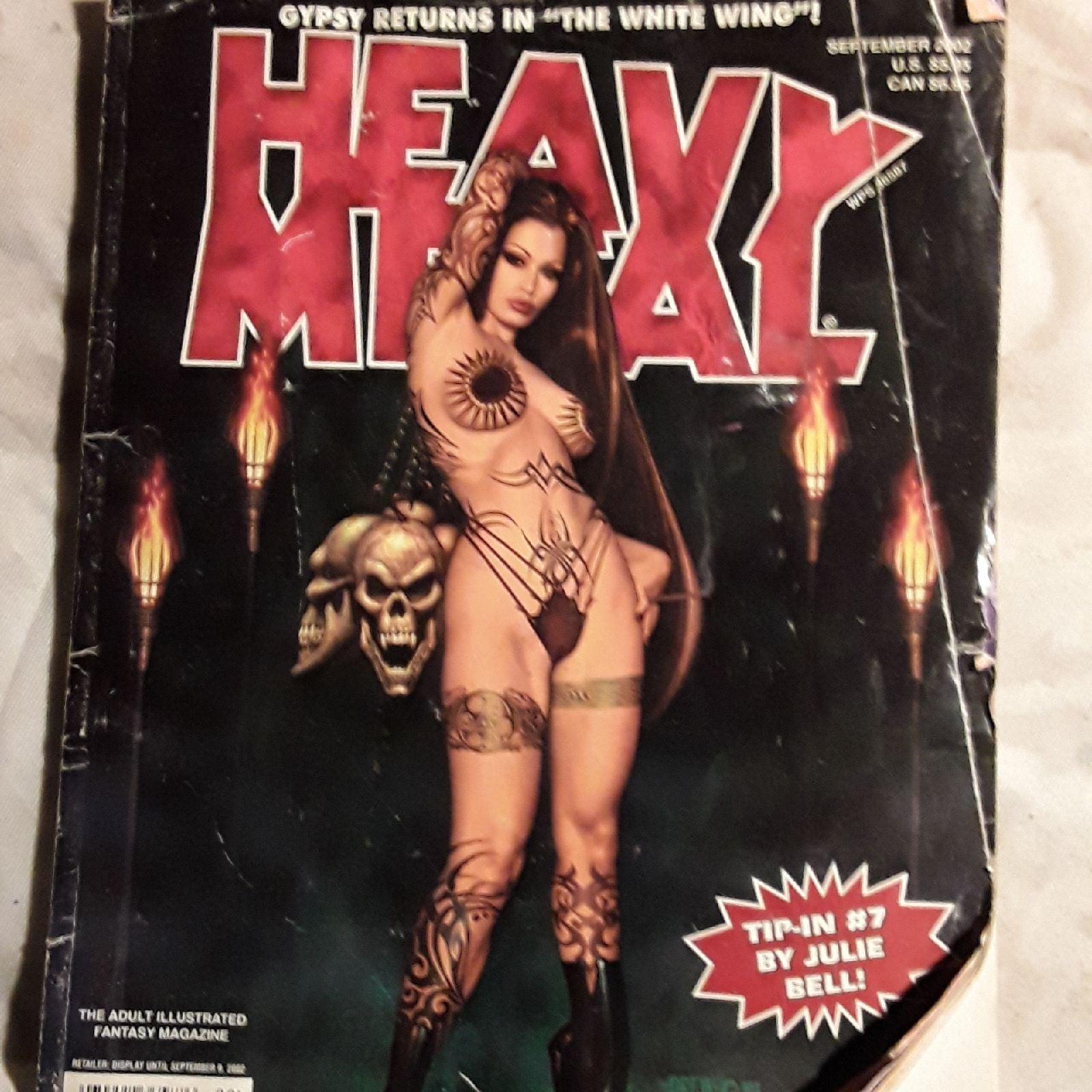 Heavy metal comics issue September 2002
