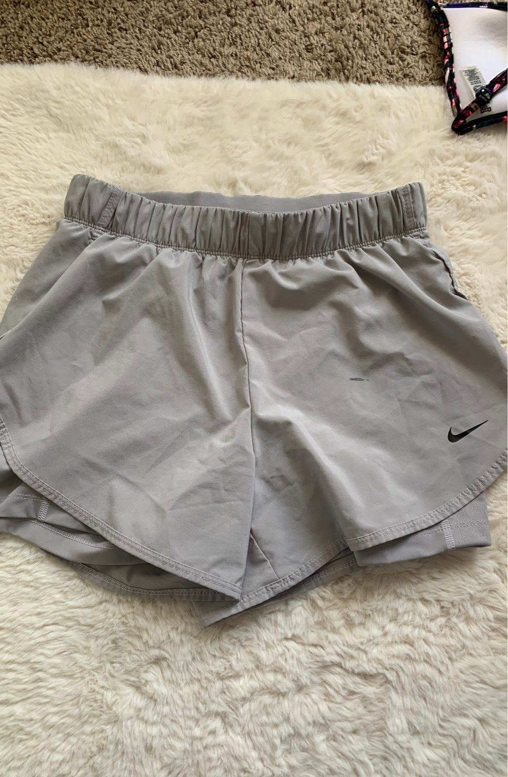 Nike Dri-FIT Shorts in Cool Grey