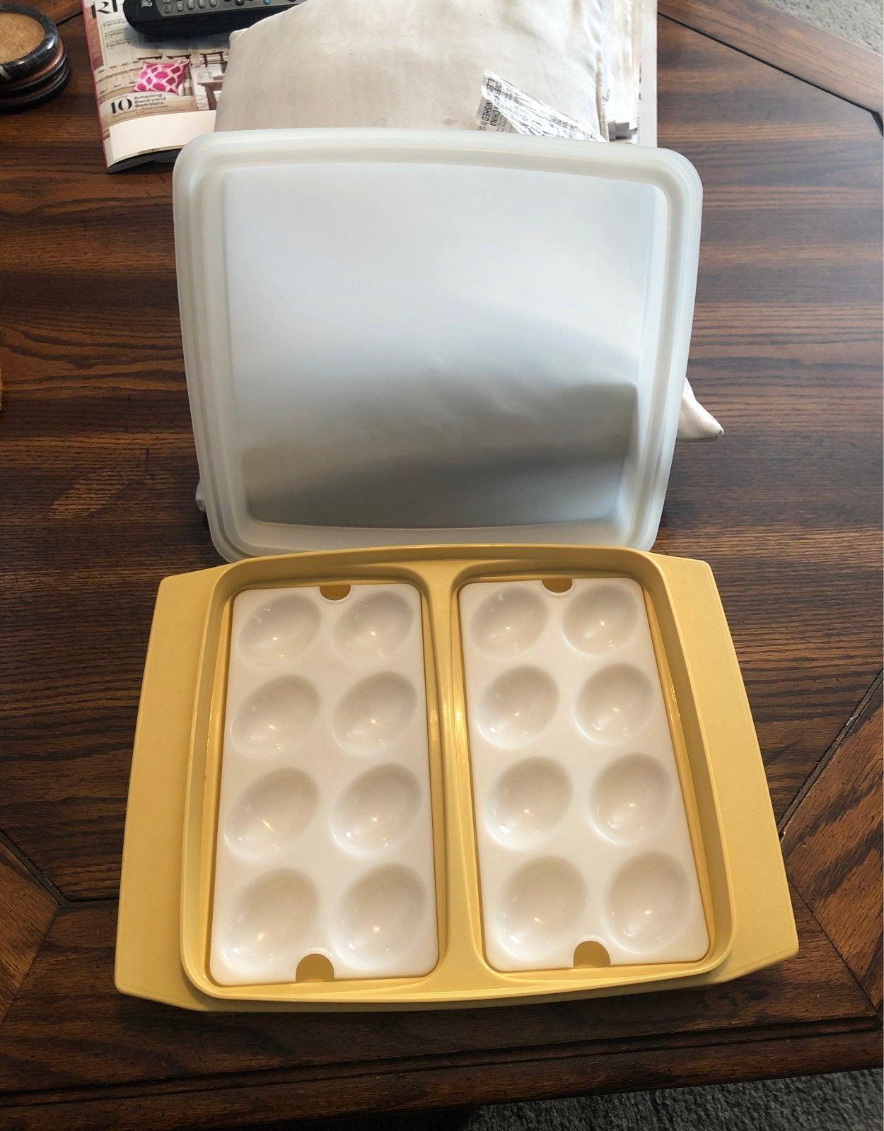 Egg Tupperware Container