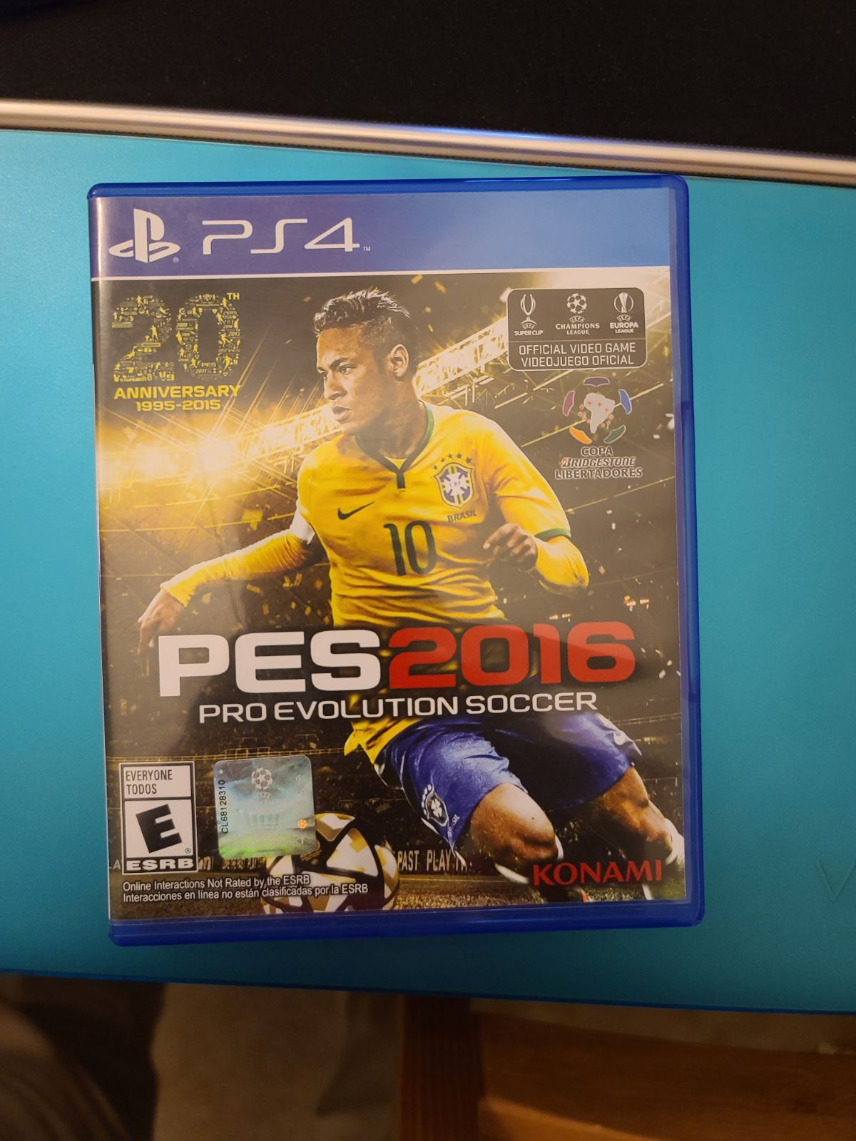 Pro Evolution Soccer 2016 PS4