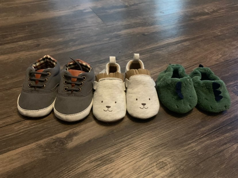 Baby Shoes & Slippers & Bobby Cover