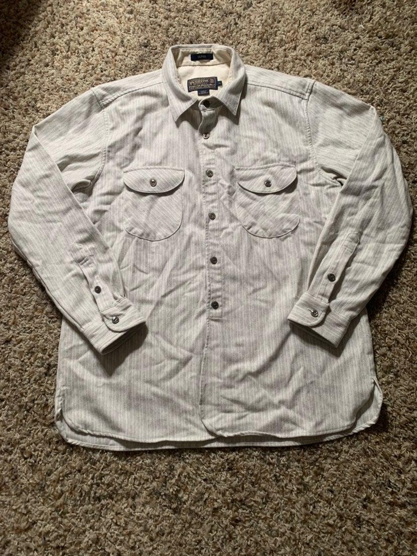 Vintage Pendleton Wool Button Up Shirt