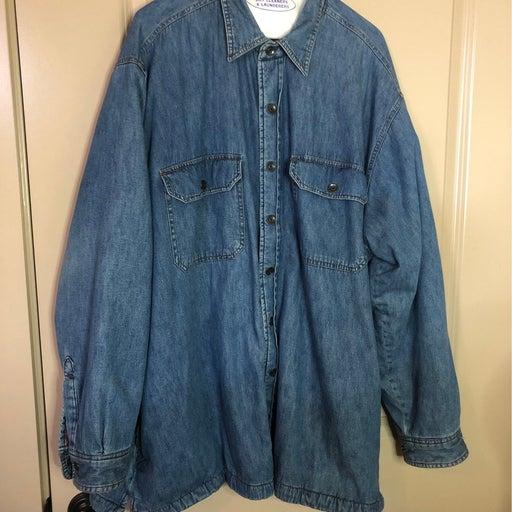 High Sierra Denim Fleeced Lined Jacket