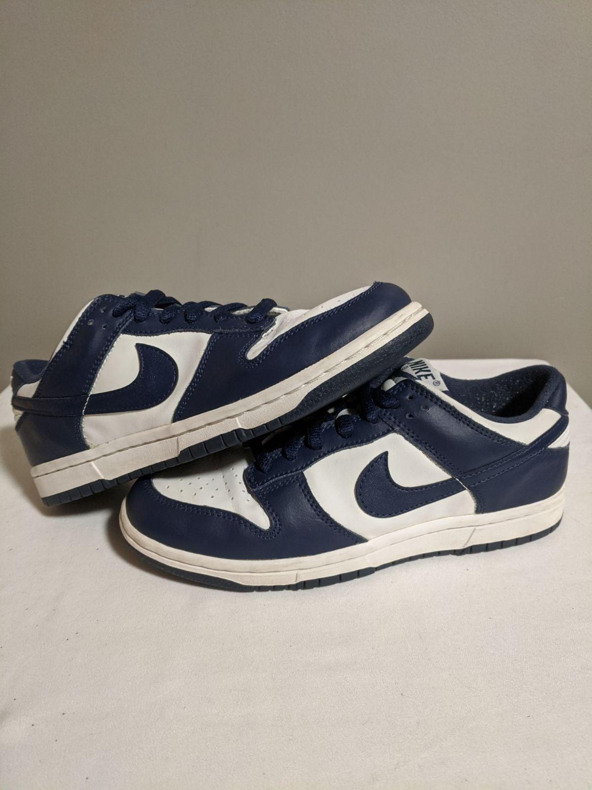 Nike dunk low Villanova navy sz 5.5
