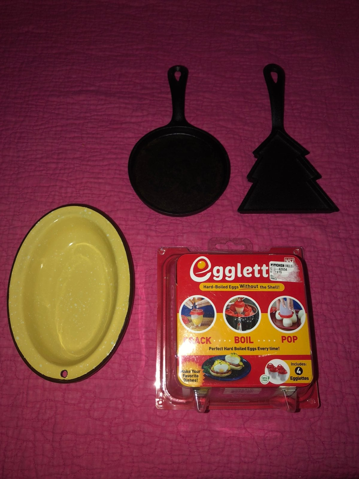 Campers Egg Bundle Cast Iron Pans