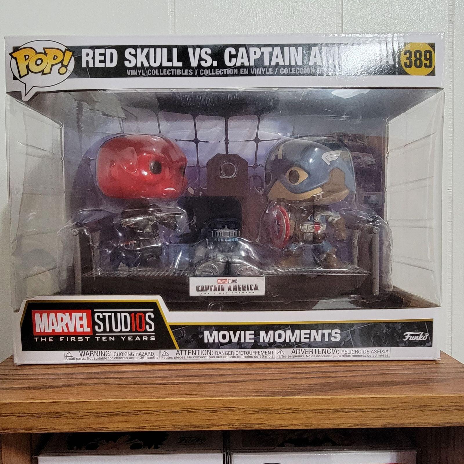 Red Skull vs Captain America Funko Pop