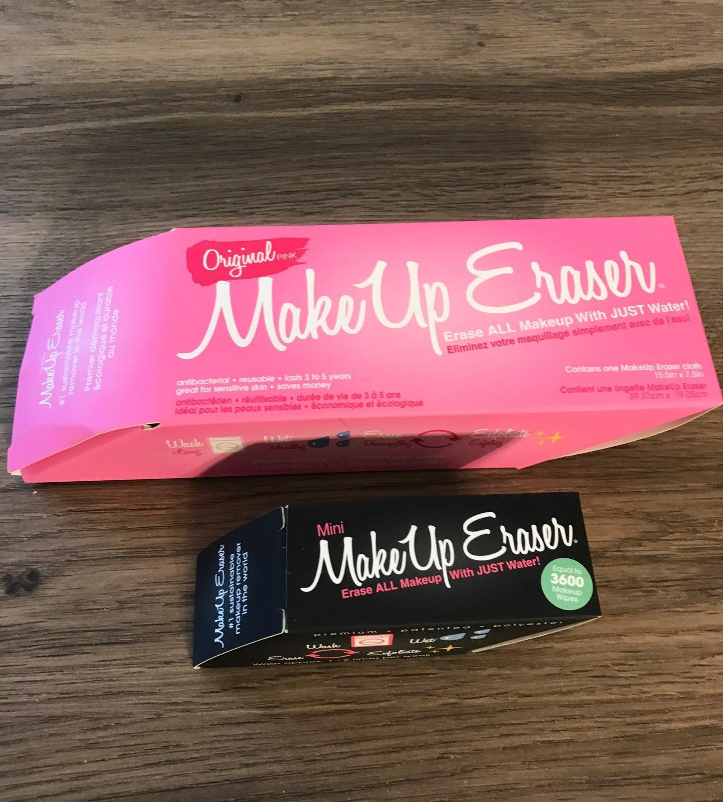 2 Makeup Erasers