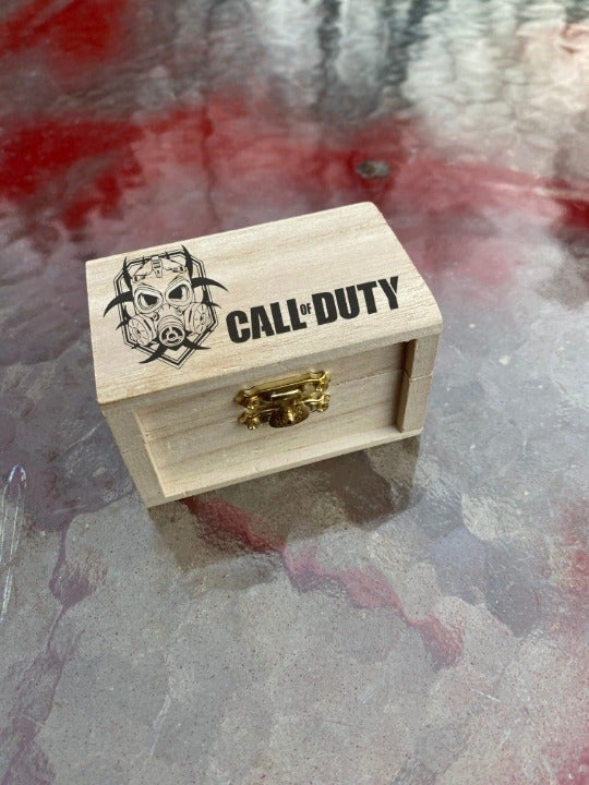 Call of Duty Engraved Jewelry Box